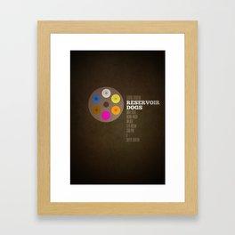 Reservoir dogs v2 Framed Art Print