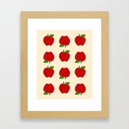 Apples For Days Framed Art Print