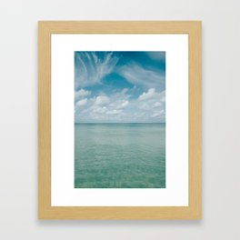 The Gulf of Mexico Framed Art Print