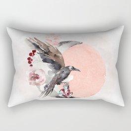 Visions Of Crystal Eyed Ravens Rectangular Pillow