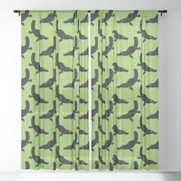 Angry Animals - Platypus Sheer Curtain