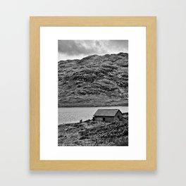 Loch Arklet Boathouse Framed Art Print