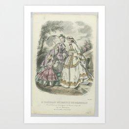 Le Conseiller des Dames et des Demoiselles, juin 1862 Journal d economie..., Anonymous, A. Leroy, 18 Art Print