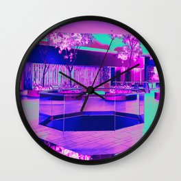 Retro Retail Realm Wall Clock