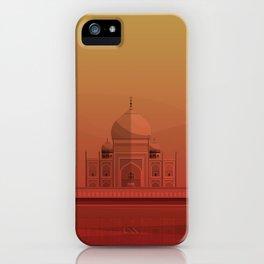 Taj Mahal, India. iPhone Case