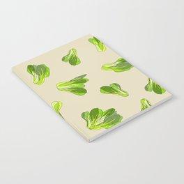 Lettuce Bok Choy Vegetable Notebook