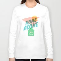 home alone Long Sleeve T-shirts featuring Home Alone by Nick Nelson