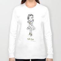 bjork Long Sleeve T-shirts featuring Bjork by Pat Pot Designs