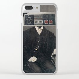 Faces of the Past: Controller Clear iPhone Case