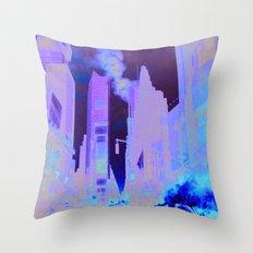 Deep Infection Throw Pillow