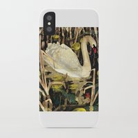 swan iPhone & iPod Cases featuring Swan by Lara Paulussen