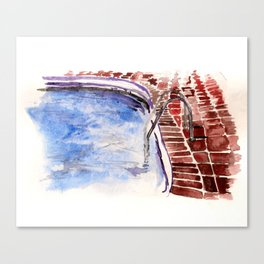 Summer study Canvas Print