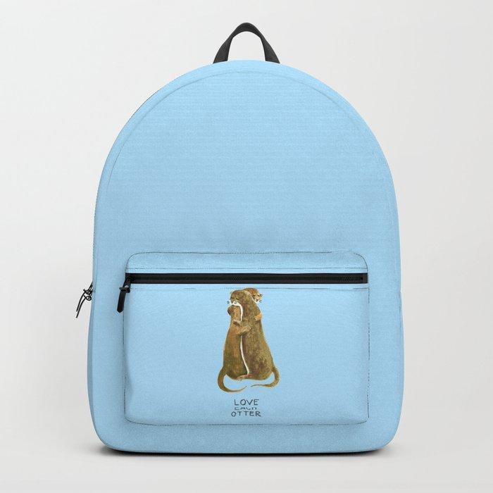 Love each otter Backpack
