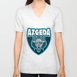 Azgeda Kru Shield Unisex V-Neck