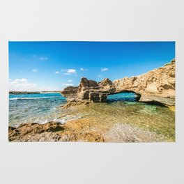Grotto seascape Rug