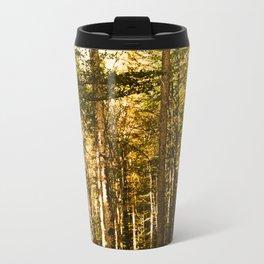 Summer morning in forest Travel Mug