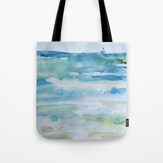 Miami Beach Watercolor #1 Tote Bag