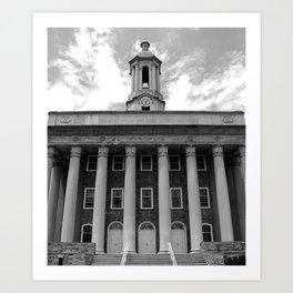 Penn State Old Main #1 Art Print