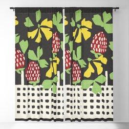 Basket of Flowers (1907) by Leopoldine Kolbe. Blackout Curtain