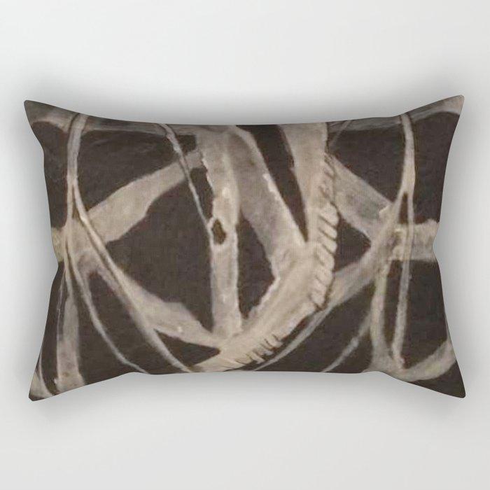 A Giant Tiger Moth Rectangular Pillow