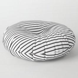 Basic Horizontal Stripes Floor Pillow