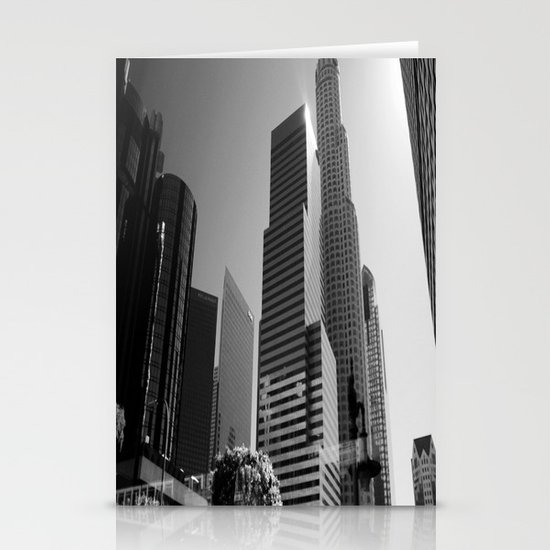 Los Angeles Skyscrapers Stationery Cards