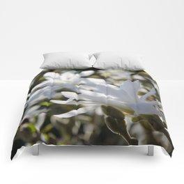 Luminous White Comforters