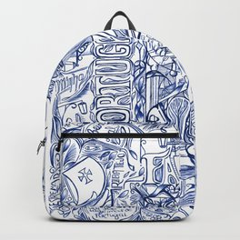 Portugal collage Backpack