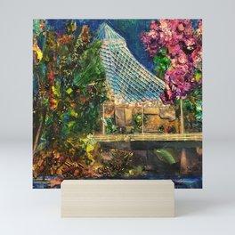 Lilac City 3: Pavilion, Riverfront Park Mini Art Print