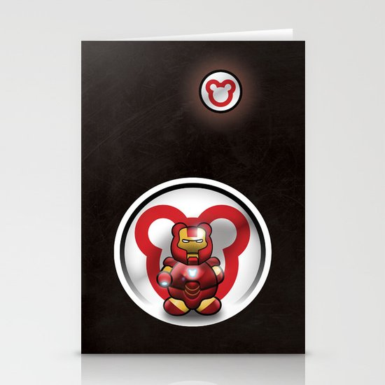 Super Bears - the Invincible One Stationery Cards