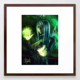 Queen Chrysalis Framed Art Print