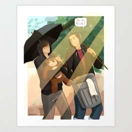 oh no neil Art Print