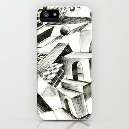 Upside Down #1 iPhone Case