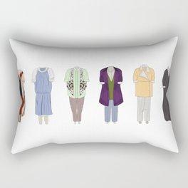 Dorothy Zbornak outfits Rectangular Pillow