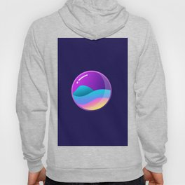 Bubble glass Hoody