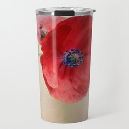 Poppies vintage(5) Travel Mug