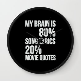 My brain | song lyrics and movie quotes Wall Clock