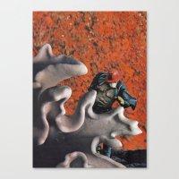 run Canvas Prints featuring run by tareco