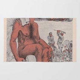 Vintage poster - Wolnosc Bolszewicka Rug