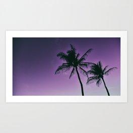 Aloha and Goodnight Art Print