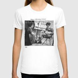 Birds in the Boneyard, Print 4: Mikey & Petey in the Studio T-shirt