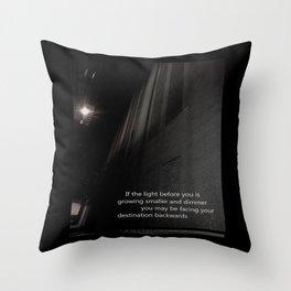 If the light.... Throw Pillow