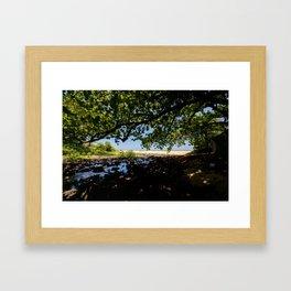 Enjoy the shade Framed Art Print