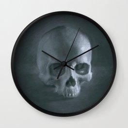 Skull Still life Wall Clock