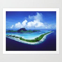 Bora Bora Art Print