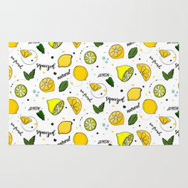 Lemon mix Rug