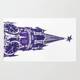 Kremlin Chimes-violet Rug