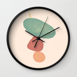 Balancing Act IV Wall Clock