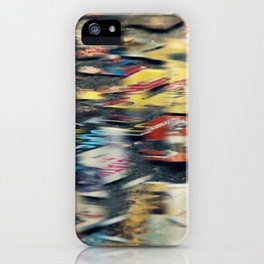 Jumbled Thoughts iPhone Case