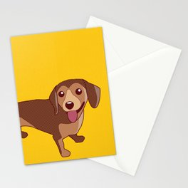 Dachshund Dog Stationery Cards